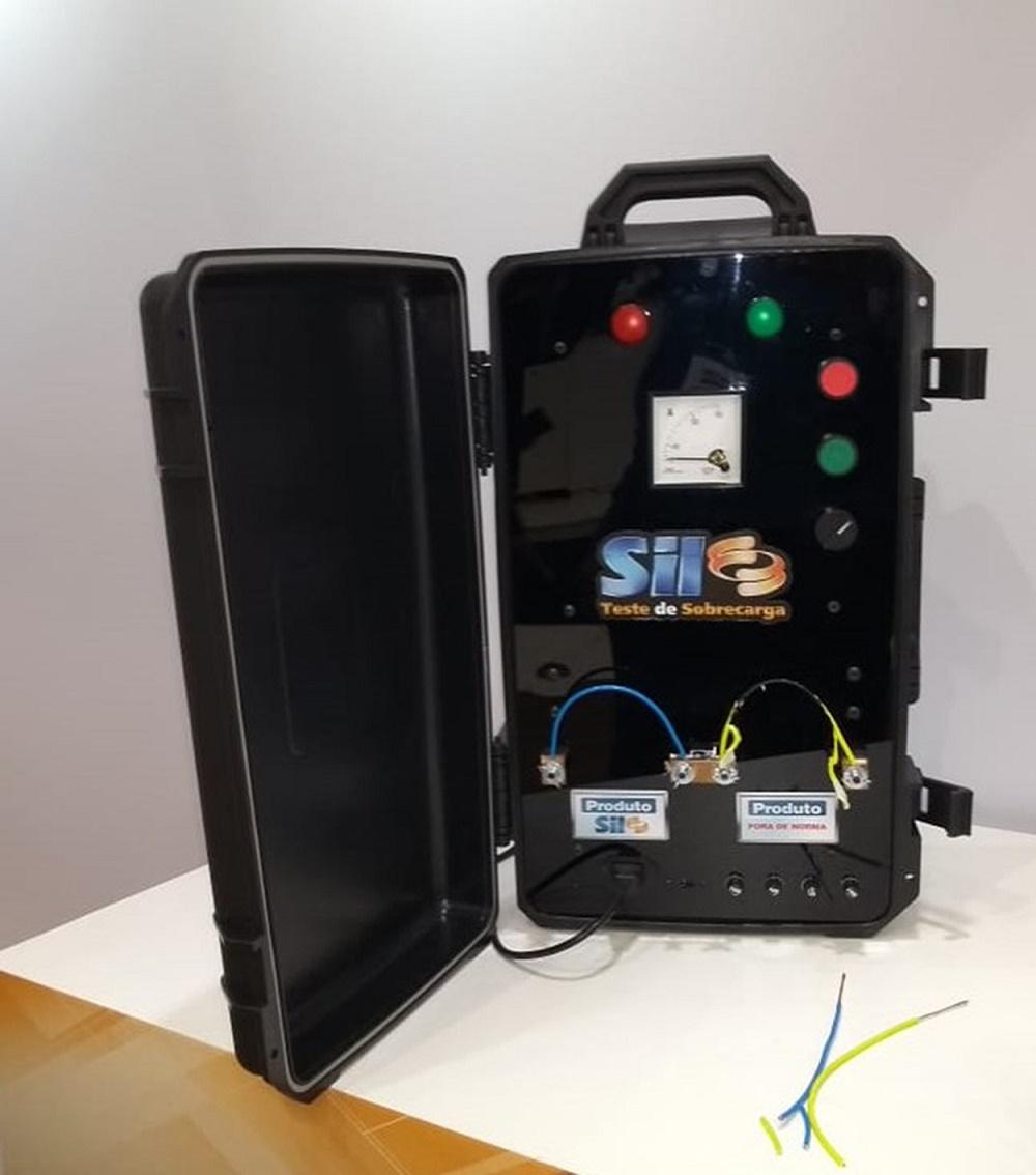 9493ef1181a01 SIL Fios e Cabos Elétricos - SIL cria máquina de teste de sobrecarga